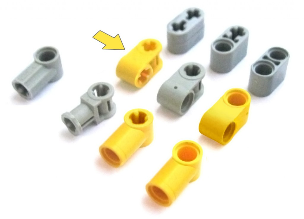 lego fake pieces connectors